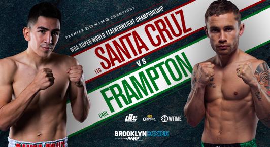 Leo Santa Cruz Vs Carl Frampton