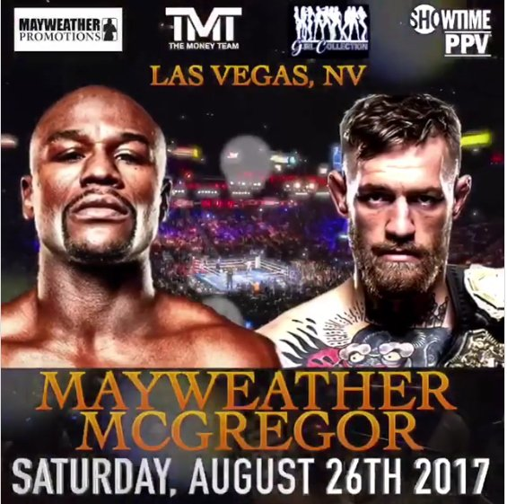 Mayweather v McGregor Failed to Break Gate-Receipt Record